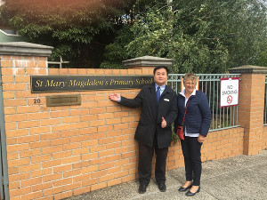 visit from Monash Councillor