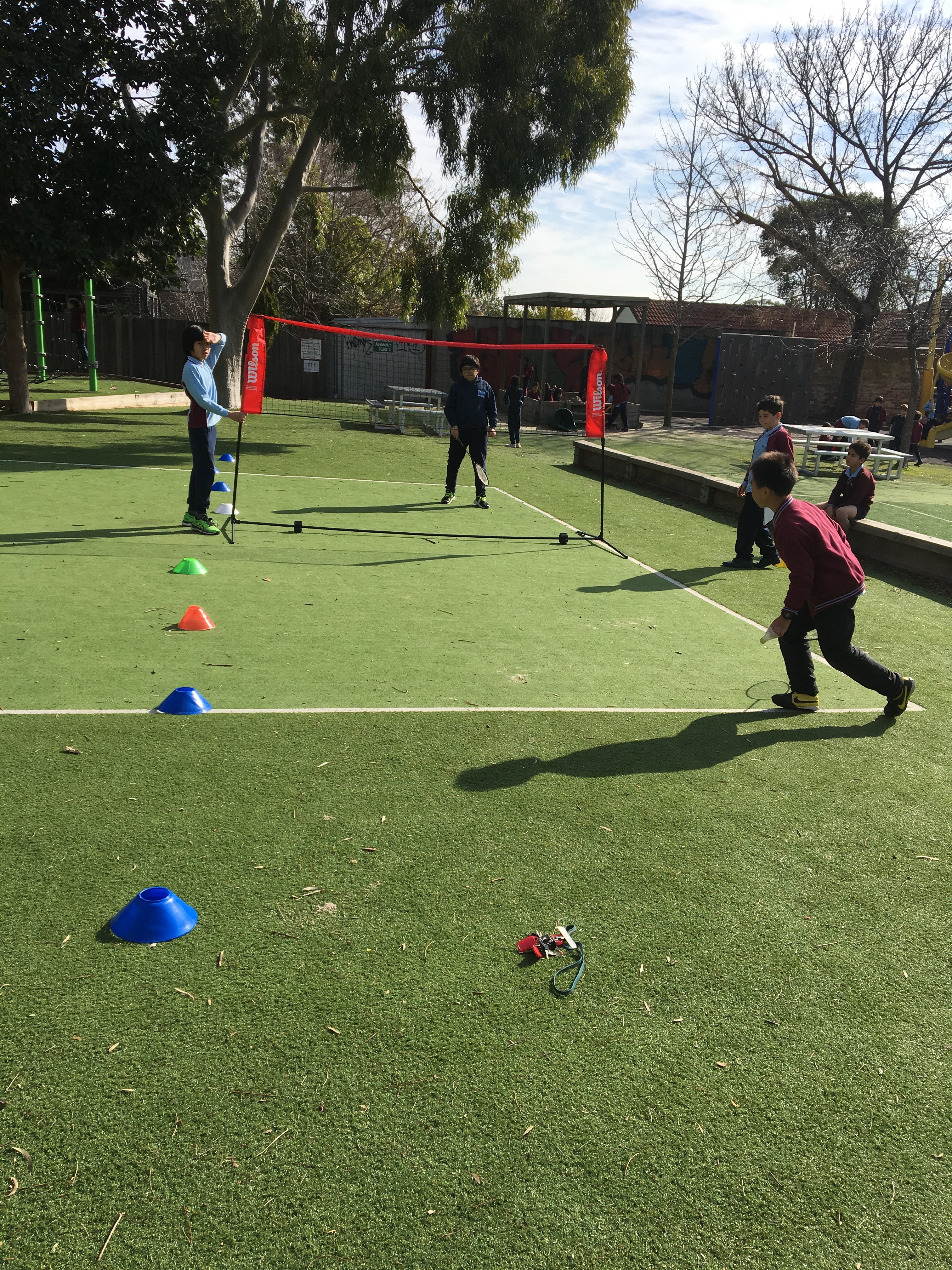 Inter-school sports Preparation